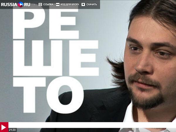 Александр Гриценко в программе «Решето»: современная драматургия как она есть