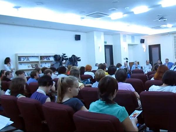 Презентация писателей ИСП в Национальной библиотеке Чувашской Республики (видеорепортаж)
