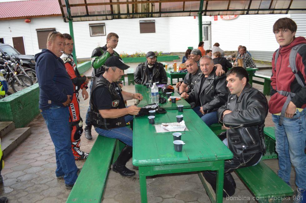 съезд байкеров в Иркутской области
