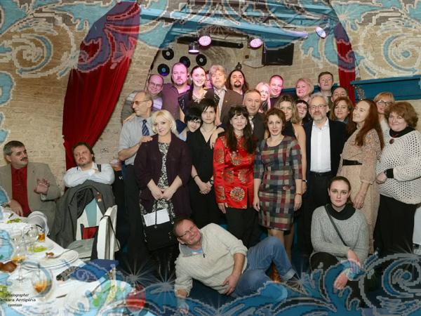 Фоторепортаж с предновогоднего вечера Интернационального Союза писателей