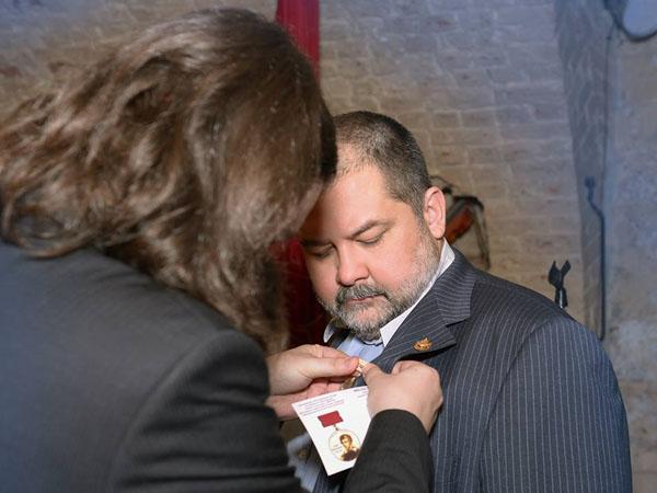 Меня наградили международной медалью имени Адама Мицкевича!