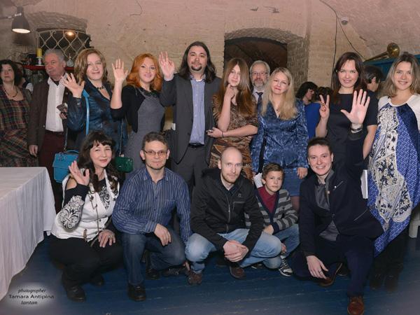 литературный вечер ИСП в клубе-ресторане «Шагал»