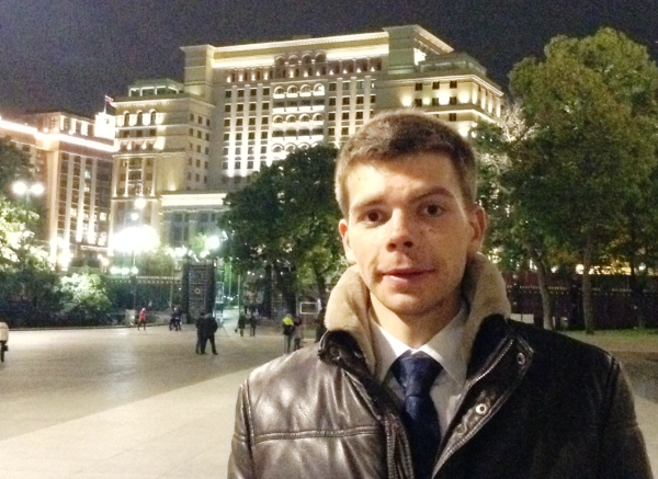 Фотография Павленко для страницы на сайте