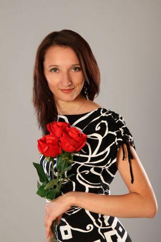 avec les roses