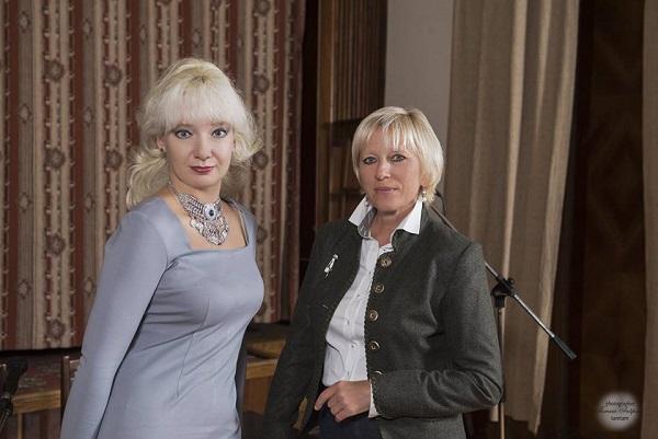 Марина Линник и Елена Фёдорова