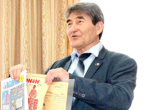 В Казани состоялся творческий вечер видного башкирского писателя-сатирика Марселя Салимова