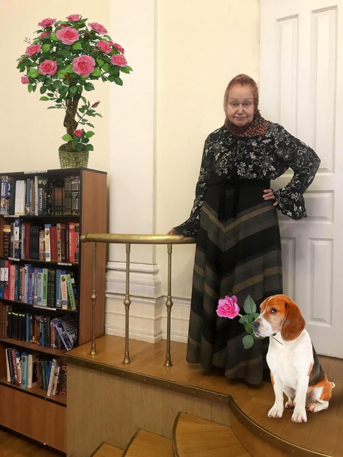 Графиня-с собакой