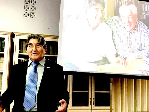 В Уфе состоялся творческий вечер юмориста Мар. Салима, посвящённый  100-летию великого башкирского поэта Мустая Карима