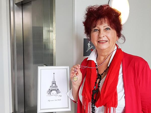 Член ИСП Натали Биссо участвует в международном фестивале в Париже