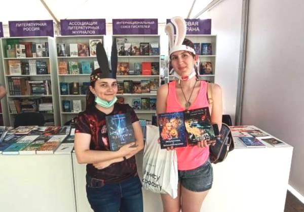 Наши читатели на книжном фестивале «Красная площадь» 2021