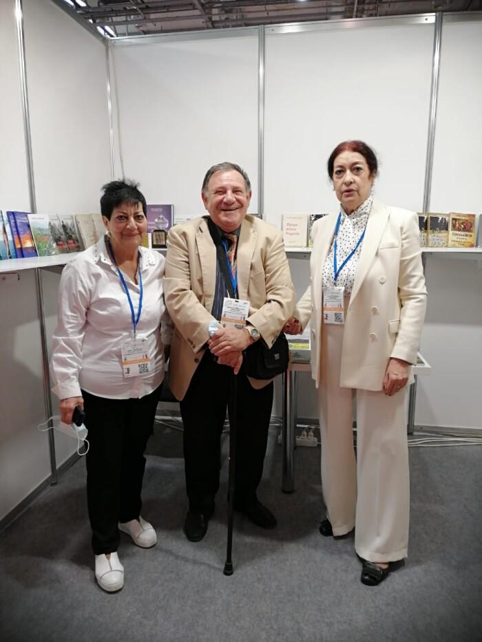 ИСП на 7-ой Бакинской международной книжной выставке-ярмарке